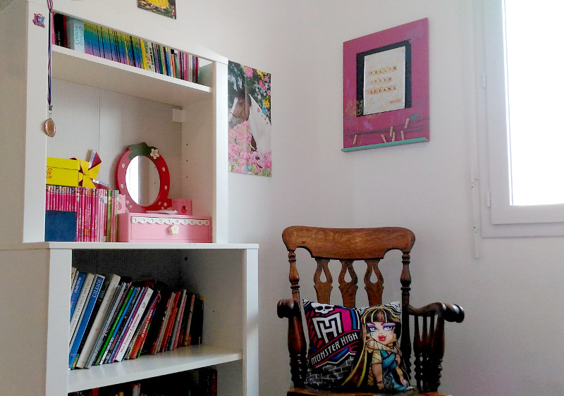 Chambre Monster High princesse