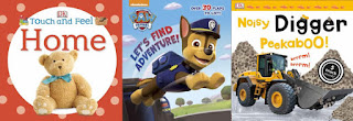 Touch and Feel: Home; Paw Patrol; Noisy Digger Peekaboo!