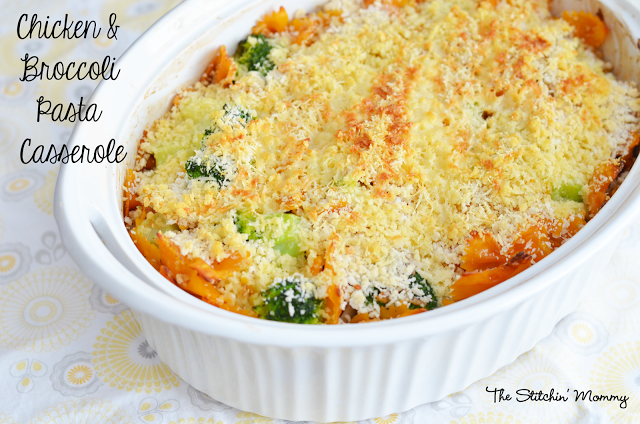 chicken broccoli pasta casserole