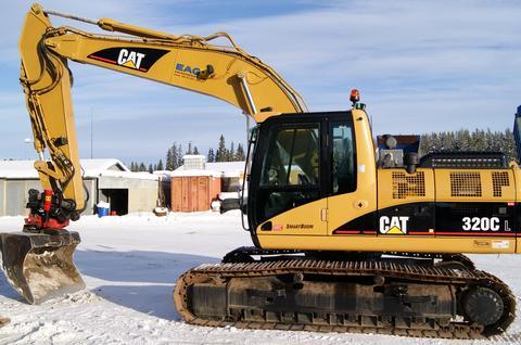 cat 320cl excavator caterpillar equipment caterpillar's c series hydraulic excavators