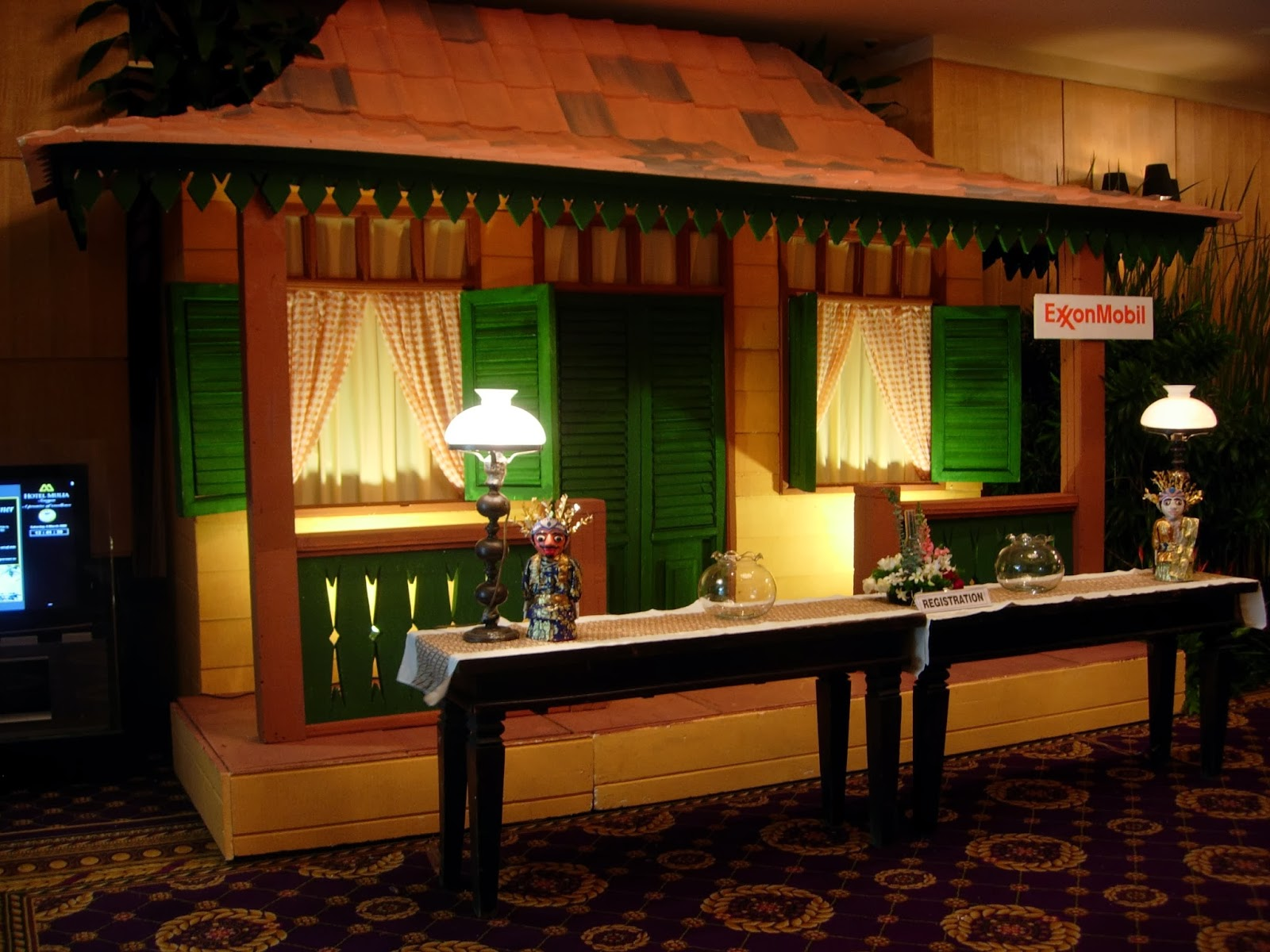 Pelaminan Betawi Dekorasi Rumah Betawi