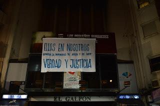 21 Marcha del Silencio. Teatro el Galpón