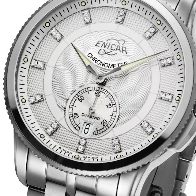 Enicar Hyperion CH337 Chronometer Mechanical Automatic Watch