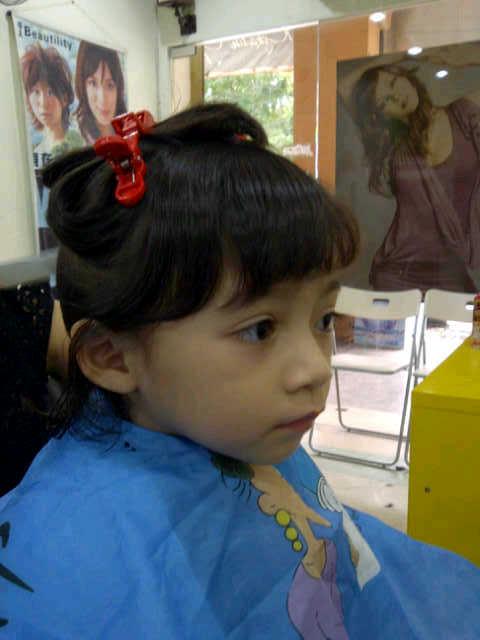 Iman di salun gunting rambut. 22b2c9fabd