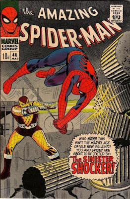 Amazing Spider-Man #46, the Shocker