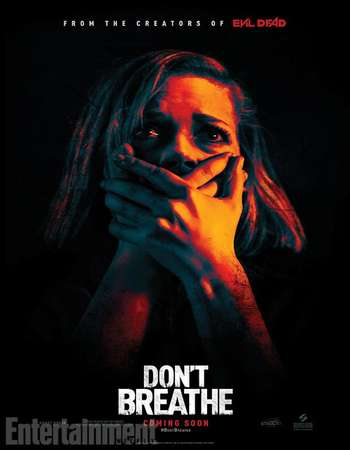 Poster Of Don't Breathe 2016 English 700MB Cam x264 Free Download Watch Online Worldfree4u