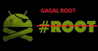 Cara Mengatasi Semua Hp Android Gagal Root