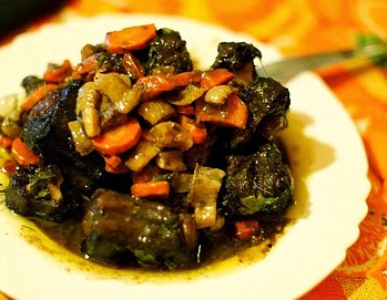 Umsila Wenkomo or Oxtail Stew a Slow Cooker Recipe Photo by Daniel Panev