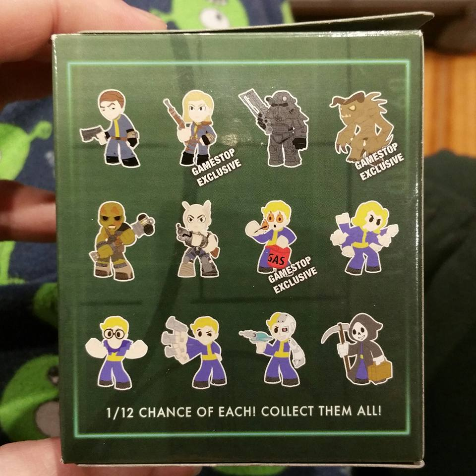 Lupine Book Club Funko Mystery Minis Fallout Vault Dweller