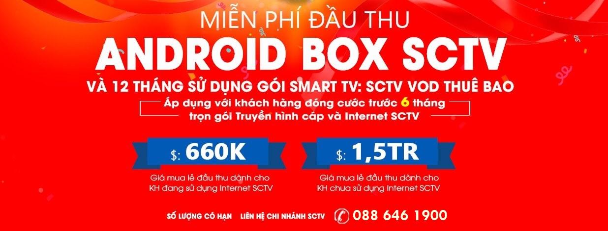 Giải trí tối đa với dịch vụ Truyền hình theo yêu cầu (SCTV Online)