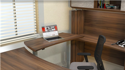 Modern Sit To Stand Executive Desk