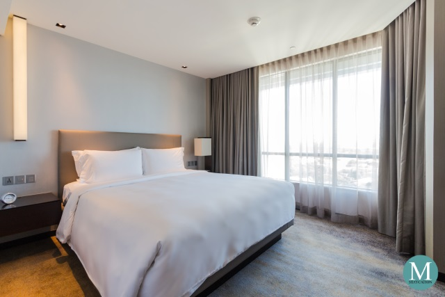One-Bedroom Suite at New World Makati Hotel