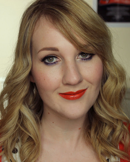 Jordana Pumpkin lipstick swatches & review