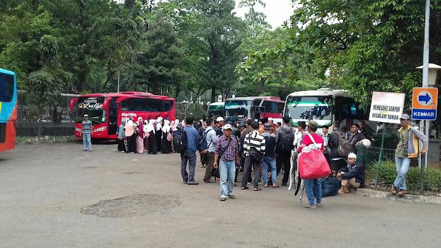 Peserta Aksi 287 dari Aceh & Bengkulu Sudah Sampai Jakarta
