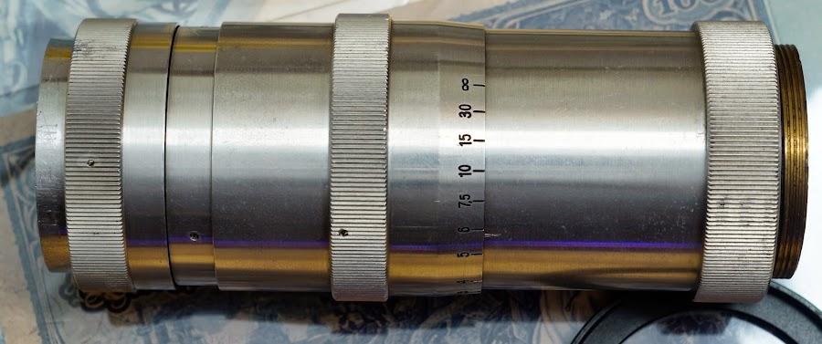 Carl Zeiss Jena Triotar 1:4 f=13,5 cm T