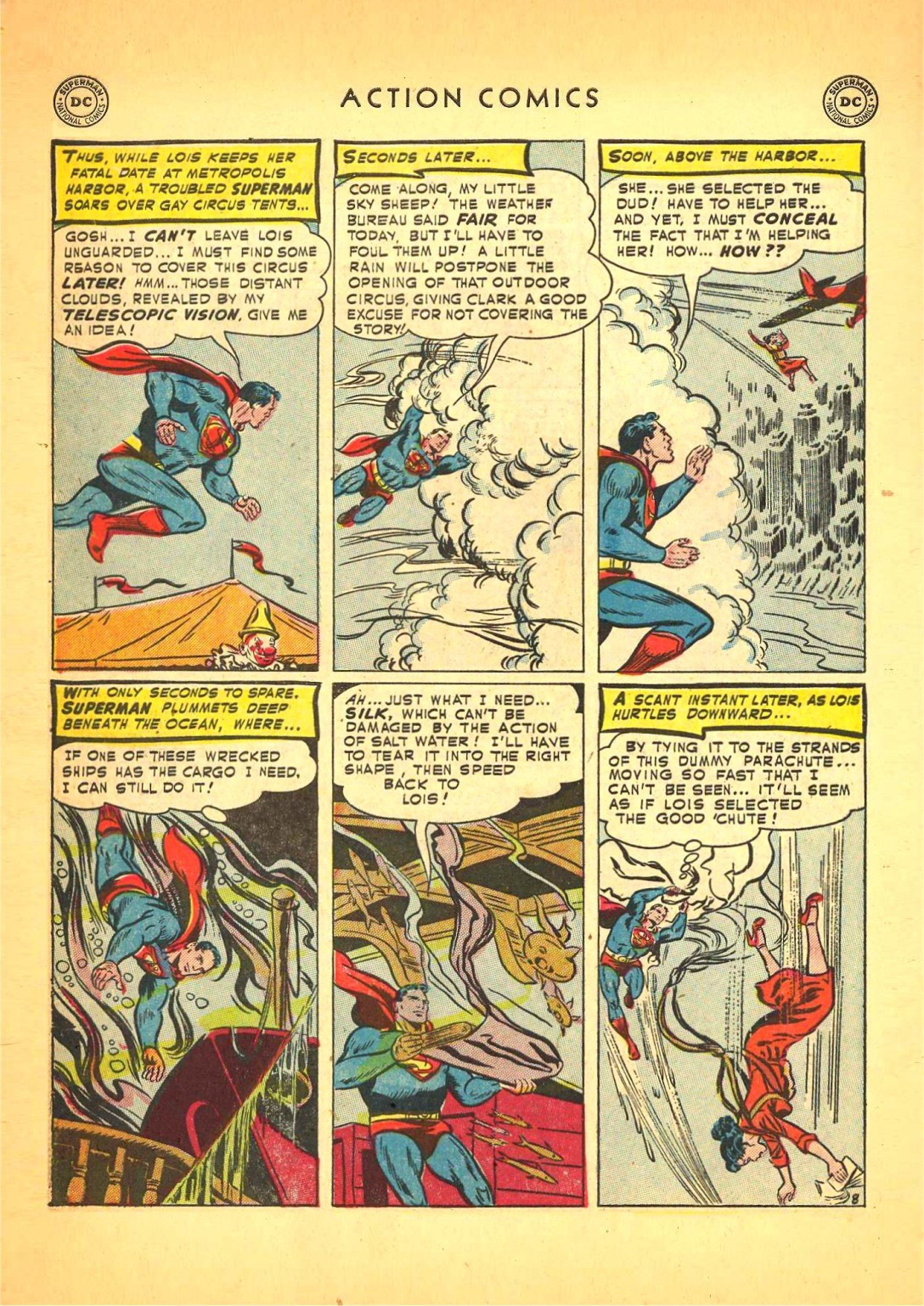 Action Comics (1938) 166 Page 8