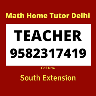 Best Maths Home Tutor in South Extension  Delhi