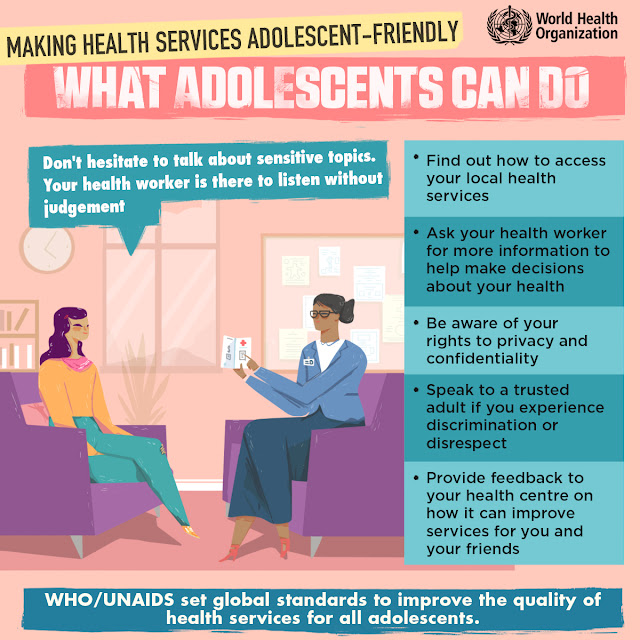 Making Health Services Adolescent-Friendly, Infographic, WHO