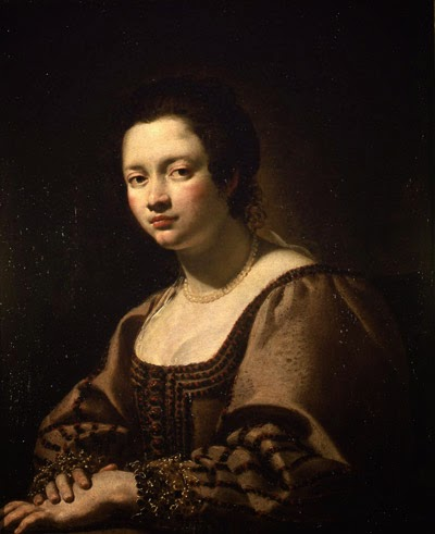 Autoportrait (1626), Virginia Vezzi