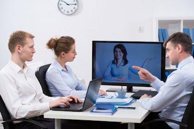 Sử dụng thiết bị hội nghị truyền hình Polycom để làm việc