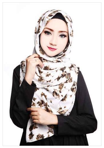 Style Hijab Modern Pashmina Motif 2016