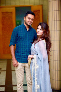 Tasnova Elvin & Her Husband Fahad Reazi Images