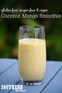 Healthy Mango Coconut Smoothie Recipe