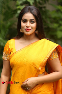 Actress Poorna Pictures in Saree at Avanthika Movie Opening  0012