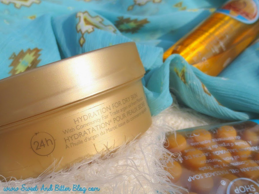 The Body Shop Wild Argan Oil Body Butter Review Dry Skin