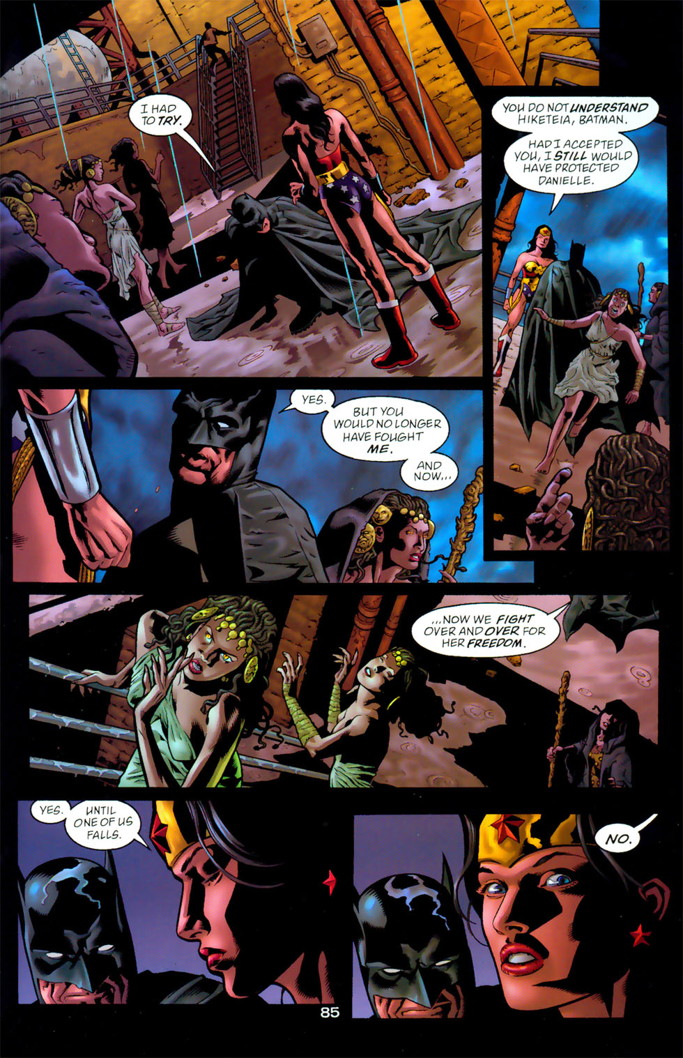 Read online Wonder Woman: The Hiketeia comic -  Issue # Full - 95