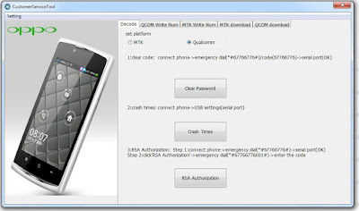 Oppo smartphone Service Tools Free Download