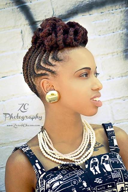 Cheki Hapa Misuko Ya Nywele Matata Braided Hair Styles