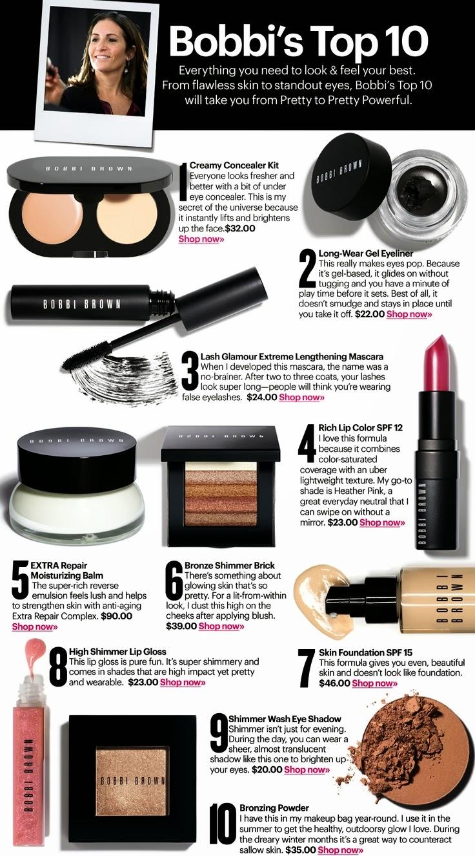 Brown Makeup Brushes: Bright Lips & Awkward Pose: Event Report: Bobbi Brown And
