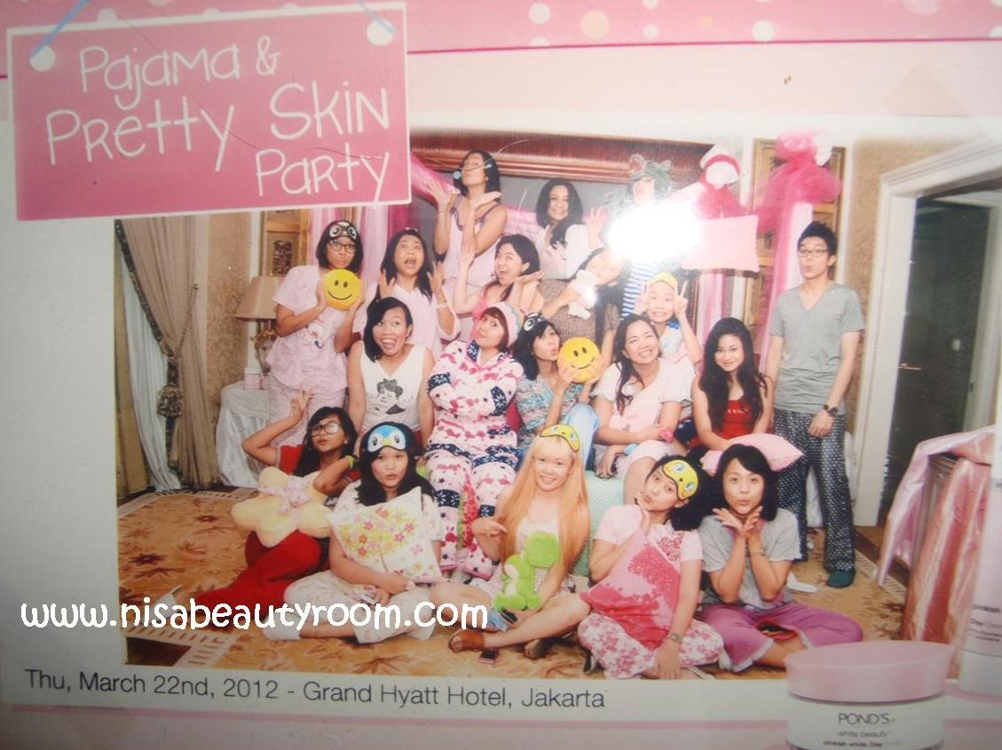 Ponds Pajamas Party