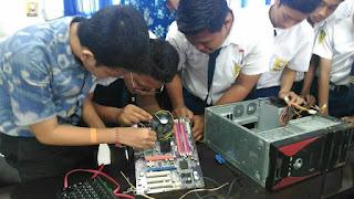 Pelatihan Komputer Gratis Untuk Calon Siswa Baru SMK TI Bali Global Denpasar