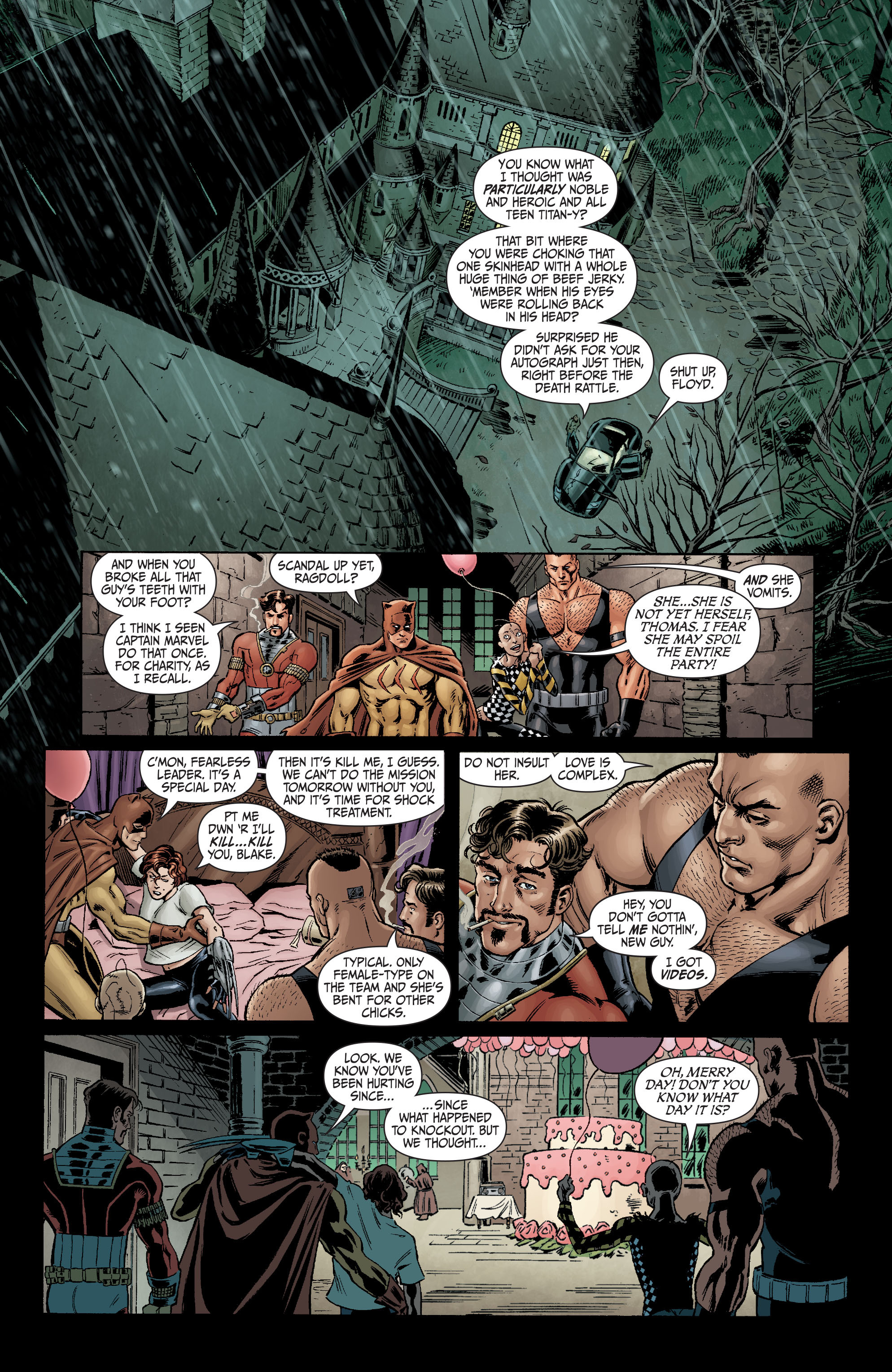 Read online Secret Six (2008) comic -  Issue #1 - 16