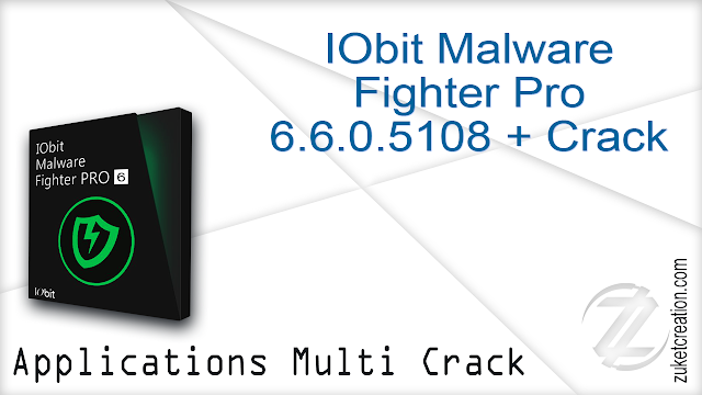 IObit Malware Fighter Pro 6.6.0.5108 + Crack