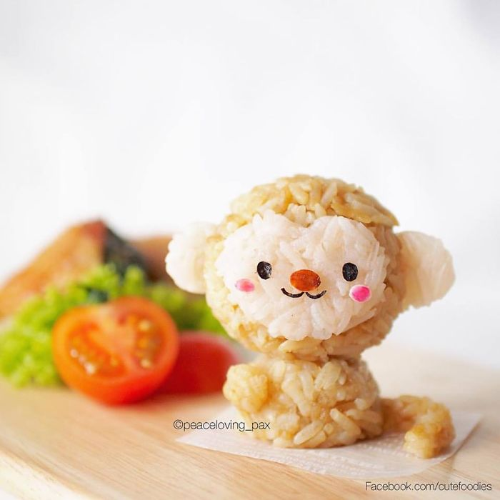 12-2016-New-Year-s-Monkey-Nawaporn-Pax-Piewpun-aka-Peaceloving-Pax-Food-Art-Inspiration-for-your-Bento-Box