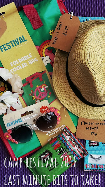 Camp Bestival 2016 ~ Last Minute Bits to Take! // 76sunflowers