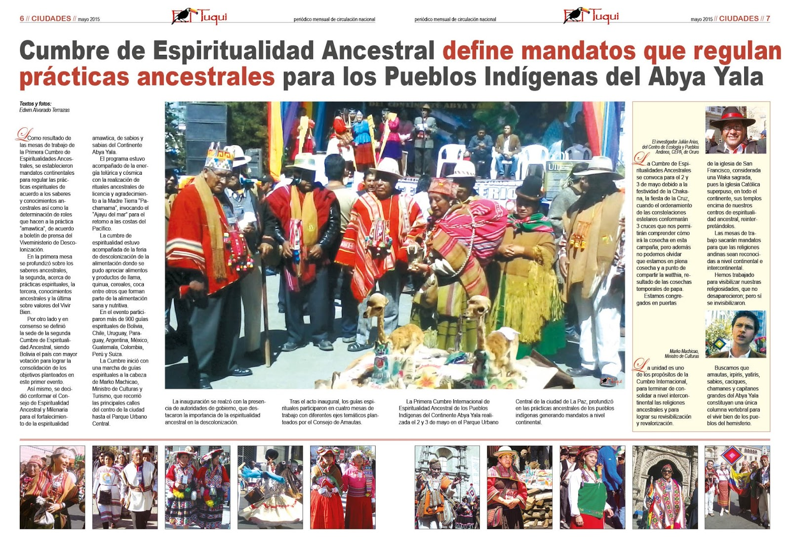 Periódico Mensual El Tuqui 2015