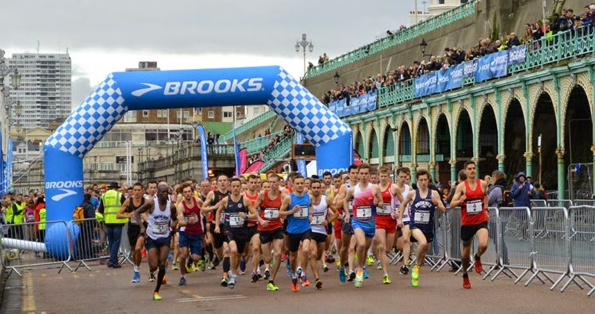 Brooks Brighton 10k 2014