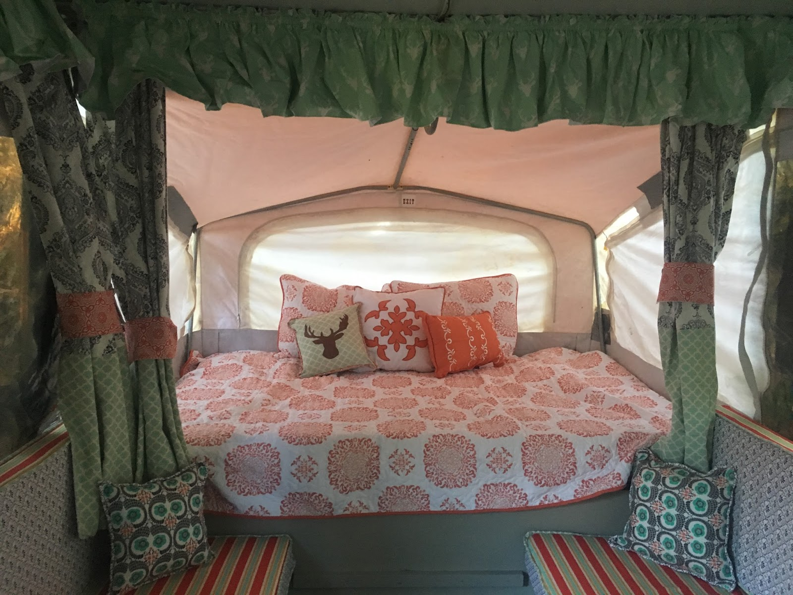 The Southern Glamper Replacing A Pop Up Camper Mattress