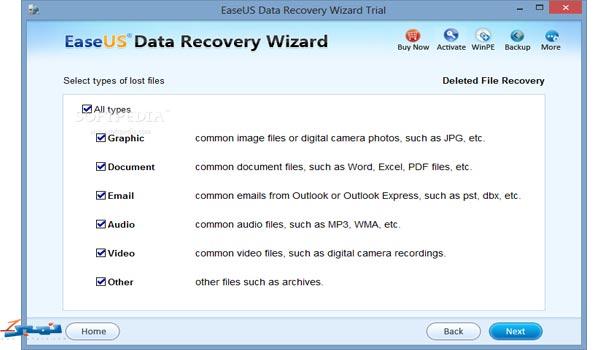 برنامج  easeus data recoveryلاسترجاع الملفات بعد حذفها للاندرويد اخر اصدار 2016