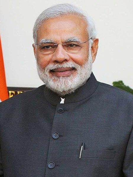 Prime Minister of India, Shri Narendra Modi.
