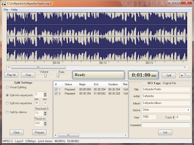 تحميل برنامج تقطيع ملفات الصوت مجانا AD MP3 Cutter