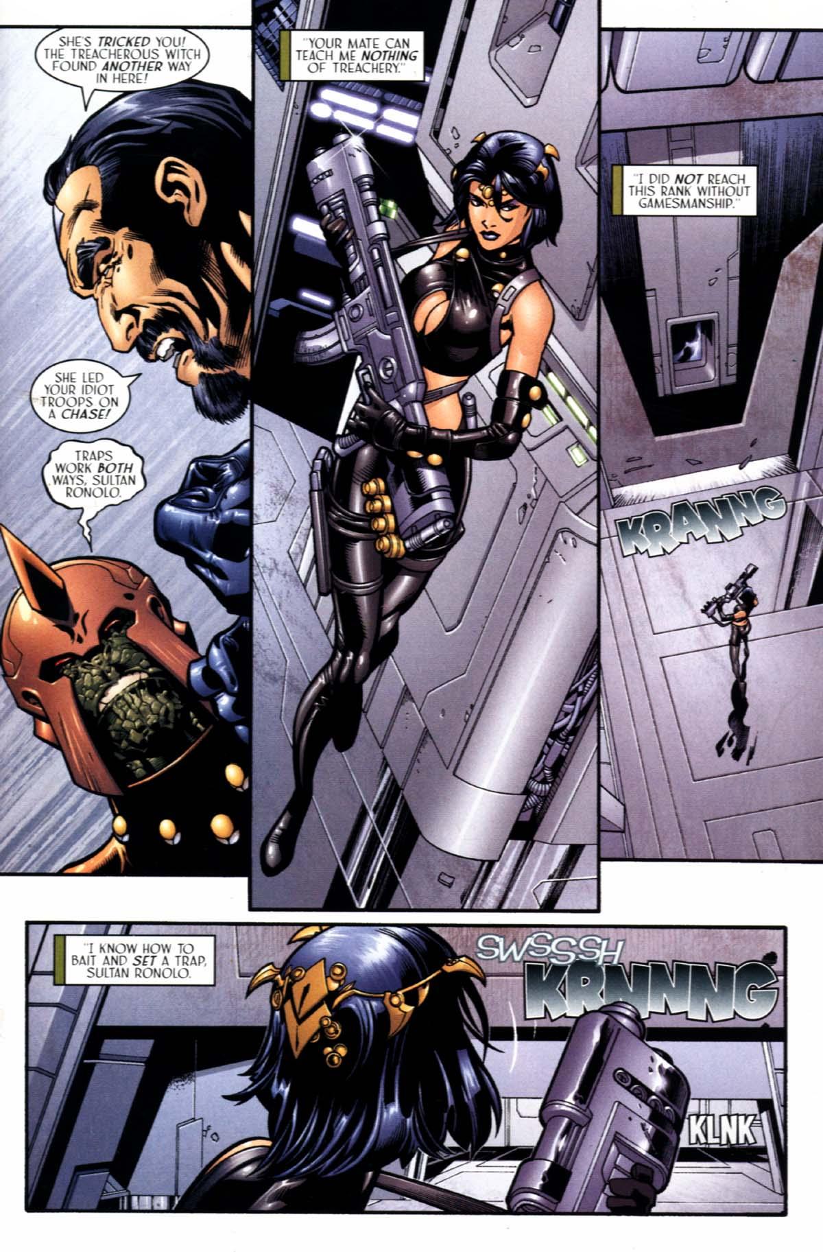 Read online Sigil (2000) comic -  Issue #21 - 23