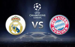Real Madrid VS Bayern Munchen Berakhir Dengan Skor 2-1