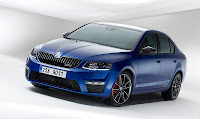 SKODA Octavia RS front side