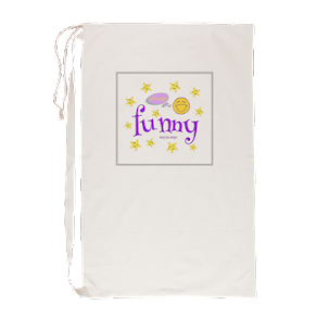 A Funny Thought Laundry Bag