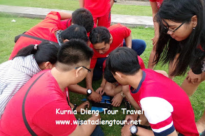 jasa outbound di dieng wonosobo